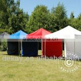 Automatic pop up brand tent