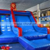Lion theme attractive inflatable water slide for dault and kid