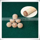 Pig Skin Billiards Pool Cue Tips
