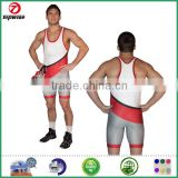 Custom design Sublimated T Back Wrestling Singlet