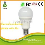 Thermal conductive plastic and Aluminum heatsink 3500k 1100lm omni smd led bulb black light
