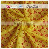 Fashion Lace Fabric Manufacture In China, Jacquard Fabric 100%Nylon African Fabric Wholesale