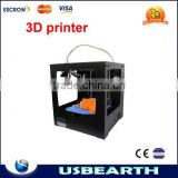 Assembled High Precision 3d artwork Creator Mini Desktop 3D Printer Upgrading with free filament and LCD