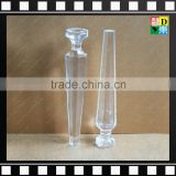 Acrylic tables and chairs legs Elegant furniture accessories Transparent clear furniture base parts