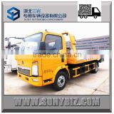 Hot! HOWO 4X2 small flatbed truck