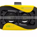 Free Sample Factory Wholesale VR Glasses 3D Google Cardboard Headset VR Shinecon 3.0 HD Glasses for 3.5-6.0 inch Phone Bluetooth