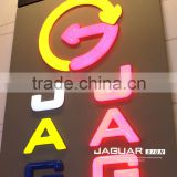 led lighted plastic full color vaccum forming alphabetical letter sign                                                                                                         Supplier's Choice