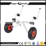 Stainless steel kayak trolley trailer for sale