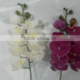 wedding favor white silk artificial orchid flower