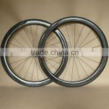 1255g 50mm carbon wheels marble finish tubular road ruote carbonio R36 Straight Pull Hubs