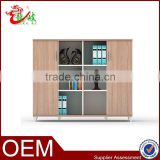 2015 new design office furniture wood grain storage cupboard M1591