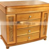 cheap wooden antique furniture showcase