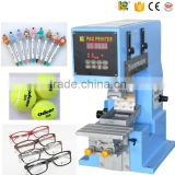 china supplier semi automatic marker pen promotional pen pad printer printing machine for sale