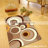 New Design Brief Pattern Printing Home Textile Fabric 100% polyester Anti-slip Bath Door Kitchen Mat