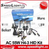 24 Months Warranty AC 55W H4 Bi Xenon HID Slim Kit 6000K                                                                         Quality Choice