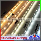 RGB LED bar,Factory Direct Sale Mutil Color 5050 RGB Led Strip DC12v, 48leds Light Waterproof Rigid Light Bar