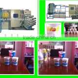 DAKE plastic mini offset printing machine, bucket printing machine