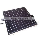 8*8 Pixels glass cover LED interactive dance floors/PC Control or SD card control LED dance floor