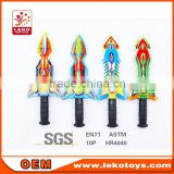 LEKO wholesale cheap PU foam sword,PU knife
