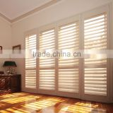 Wholesale hollow shutter adjustable indoor basswood louver interior plantation shutters inside mount