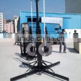 heavy loading 250kg speaker truss stand lift tower hand crank line array lift tower                                                                         Quality Choice