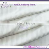 250TC ivory 1cm satin stripe hotel duvet covers, stripe quilt covers, duvet shams-wholesale price