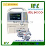 MSL8000D-4 High resolution True-color Graphic Biphasic Defibrillator/Portable Defibrillator