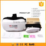 Plastic 3d glasses vr headset with head strap for mobile phone                                                                         Quality Choice