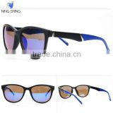 2016 HOT SALE Colorful Fashion Plastic Mirror Sunglasses Women Mens                                                                         Quality Choice