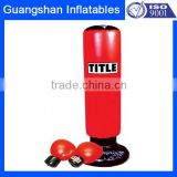 inflatable kick boxing gloves and punching bag                                                                         Quality Choice