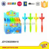 New products Hot selling summer toys plastic bubble sword with soap water in display box kids toy
