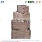 factory supply custom handmade wooden beer box/case/crate