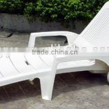 Plastic folding beach chair/swimming pool chair/sun bed
