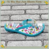 Cheap Jelly Sandals With Closure Towel Material Hotel Slippers With Embroidered Logo