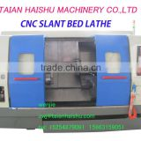 CNC450B-1 high precision horizontal slant bed cnc lathe With CE and Low Price