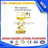electric scissor lift & self propelled scissor lift /scissor lift with hydraulic drive motor