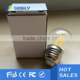 4W 6W 8W LED COB Globe Filament Lamp Bulb 360 Edison Incandescent Light Bulbs