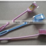 factory sell cheap plastic toilet cleaning brush tb008