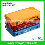 2014 Hot sale 12000mAH Car Jump Starter Car Emergency Power Bank Mobile phone Laptop Rechargeable Battery Charger