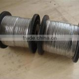 1mm 12mm thick thin flexible stainless steel cut wire shot rope for bracelet