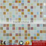 IMARK Blue Gold Star Glass Mosaic Tile Mix Quartz Glass Mosaic Tile Kitchen Tile Bathroom Tile Wall Interior mosaic tile quality
