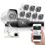 Zmodo cctv design-private outlook mold 8 ch Simplified POE P2P 1080p NVR kits with security POE IP camera