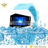 Latest 50 ATM waterproof watch silicone airplane shape Led watches