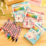 Best promotion gifts DIY creative stationery kid personalized Novelty Character Crayon Bath Rainbow Multicolor Richcolor Crayon