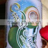 Natural Pure Coconut Water with Pulp tin can 330ml