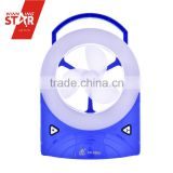 Creative design 32 SMDs Dimming emergency light with fan