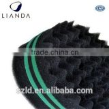sponge for black hair,hair curling sponge,magic hair sponge