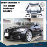 HOT SALE/ For 3 series E90 m-te style 2005-2009 year car up tunning pp bumper set body kit