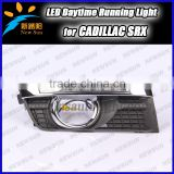 Professional CAR-Specific for Cadillac SRX 2010~2012 LED DRL,Daytime Running Light drl driving fog lamp for Cadillac headlight