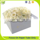 Good quality flower pattern paper packaging tube